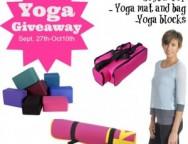 Yoga Giveaway