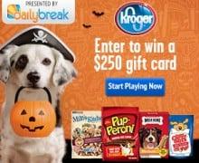 Win a $250.00 Krogers Gift card!