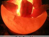 Serenity Salt Bowl Lamp Giveaway