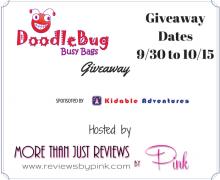 Win A DoodleBug Busy Bag