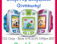 LeapFrog LeapBand giveaway!