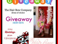 Hair Bow Dress Giveaway