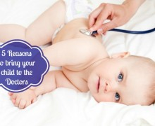 5 Reasons to bring your child to the Doctors