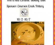 Win a Ceramic Baking Dish