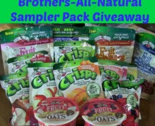 Brothers-All-Natural Freeze Dried Sampler Giveaway