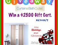Curtain&Bath Outlet Gift Card Giveaway