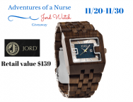 Jord Watch Review and Giveaway
