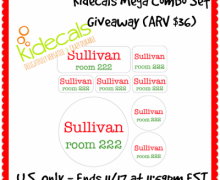 Kidcals Labels Giveaway