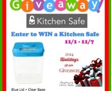 Kitchen Safe Giveaway