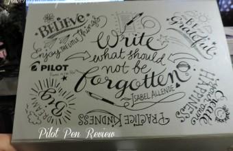 Pilot Pen Review