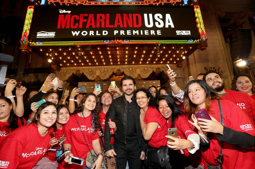 World Premiere of MCFARLAND, USA at the El Capitan Theatre in Hollywood