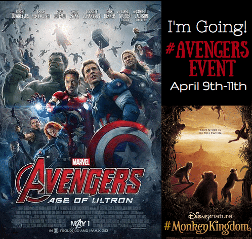 I'm Going! #AvengersEvent #MonkeyKingdom
