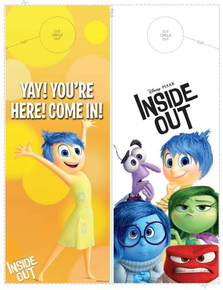 Inside Out Easter Activity Sheets