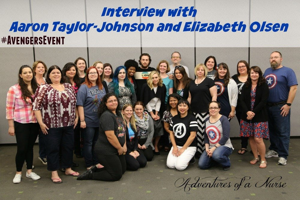Chatting with Super Heroes Aaron Taylor-Johnson and Elizabeth Olsen