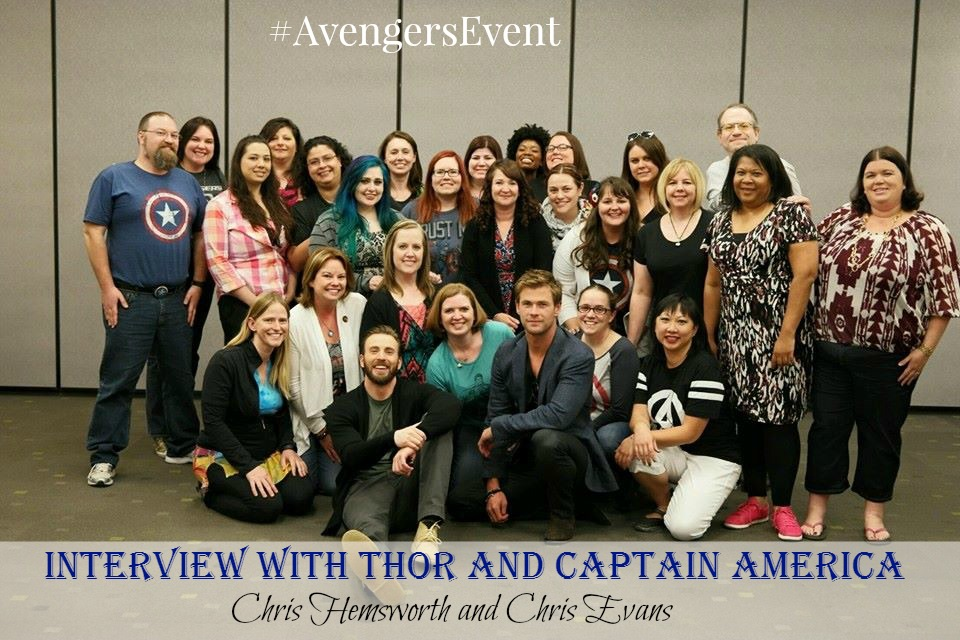 #AvengersEvent Interview with Chris Evans and Chris Hemsworth