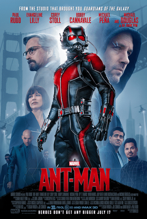 Brand New Poster for ANTMAN