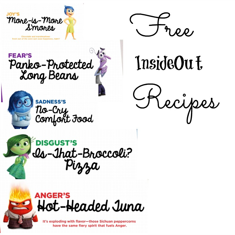5 Free Insideout Recipes