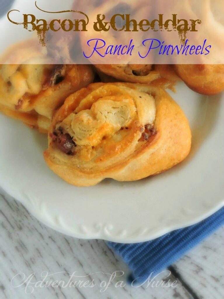 Bacon Cheddar Ranch Pinwheels