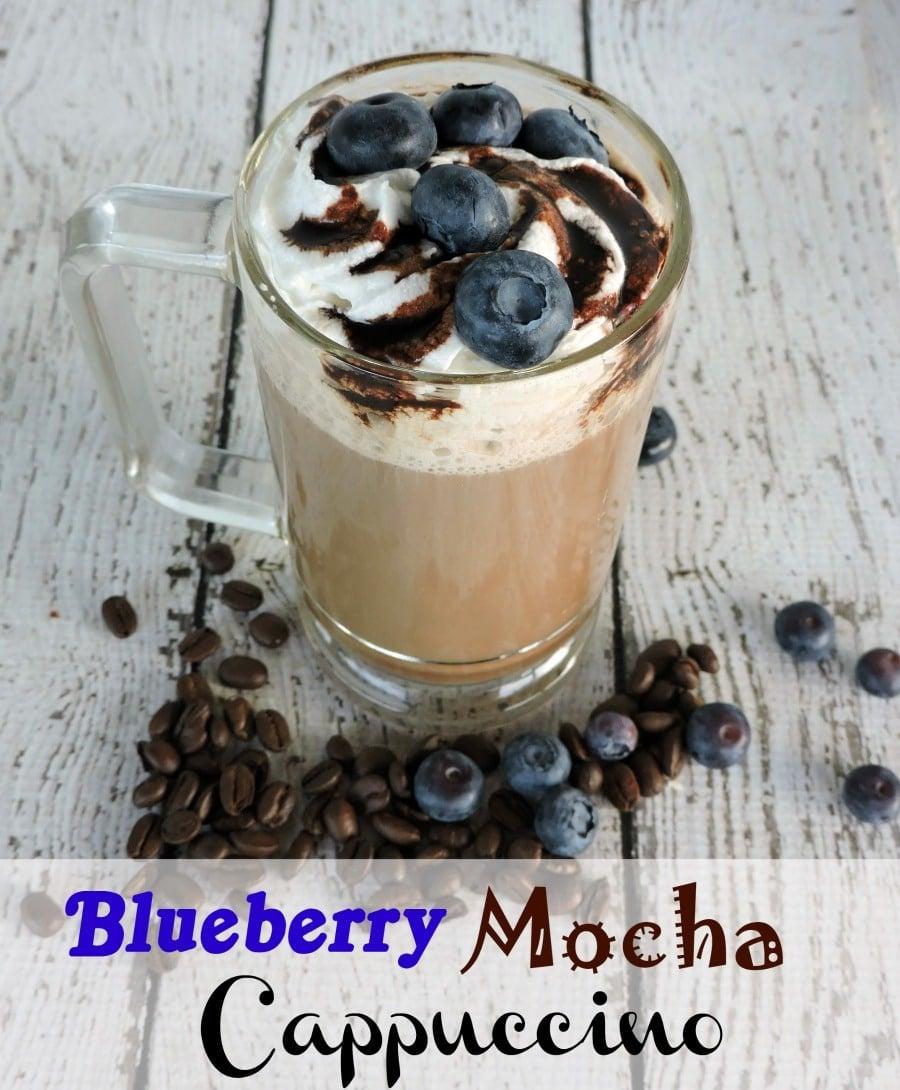 Blueberry Mocha Cappuccino