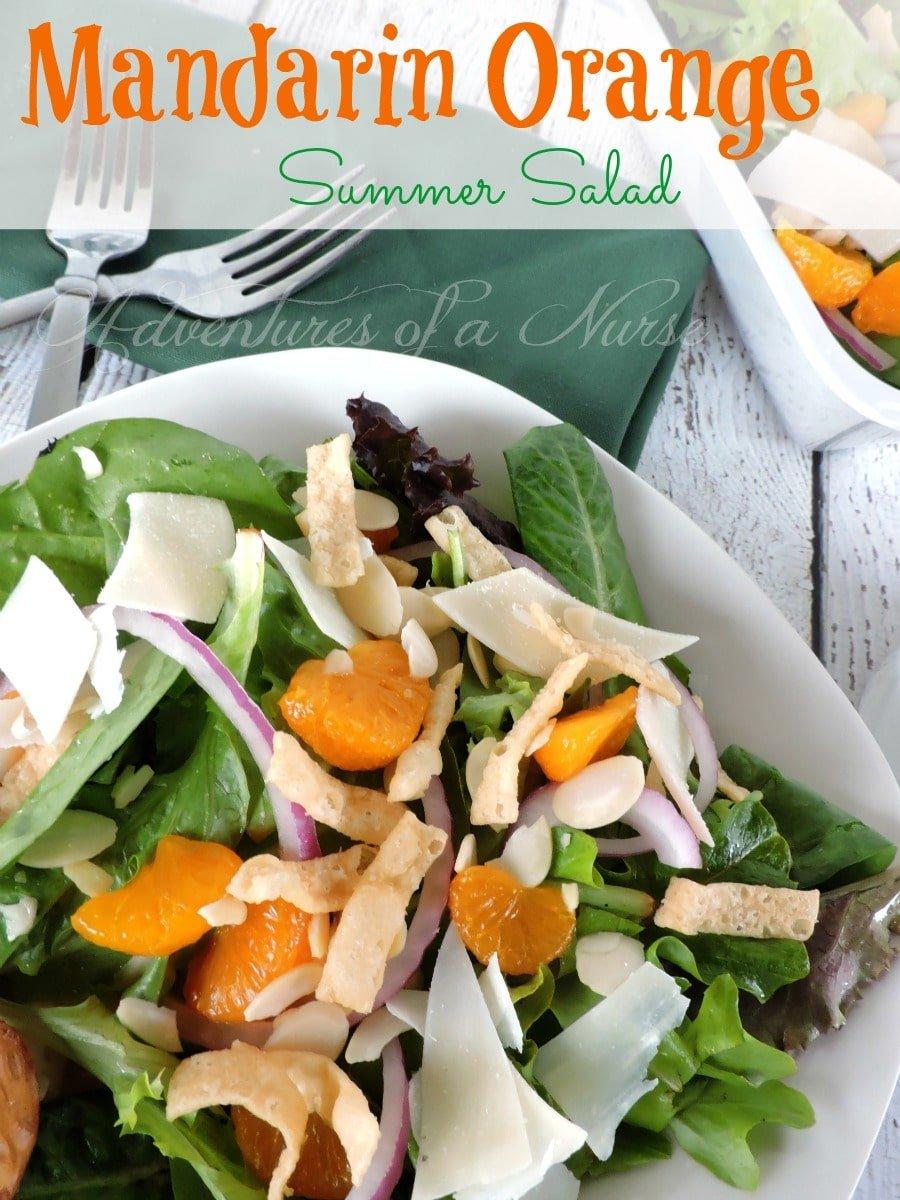 Mandarin Orange Summer Salad