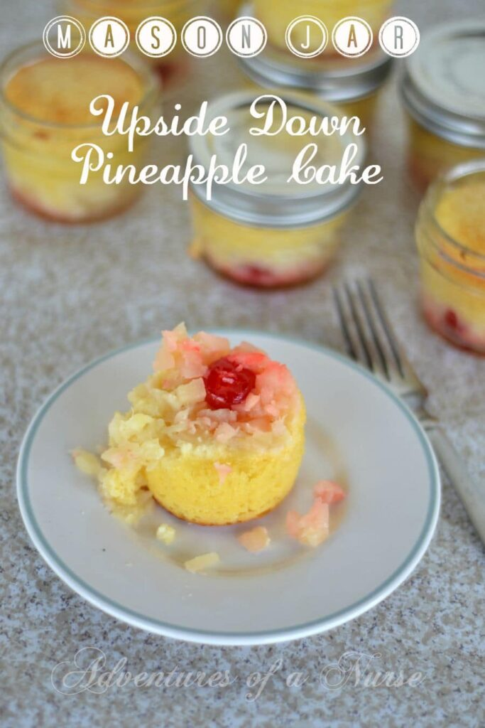 Pineapple Upside Down Cake Using Mix And Pineapple Juice