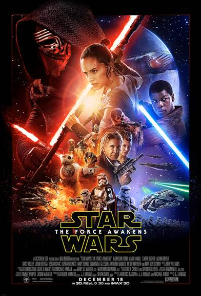 STAR WARS: THE FORCE AWAKENS Opens in 2 Weeks