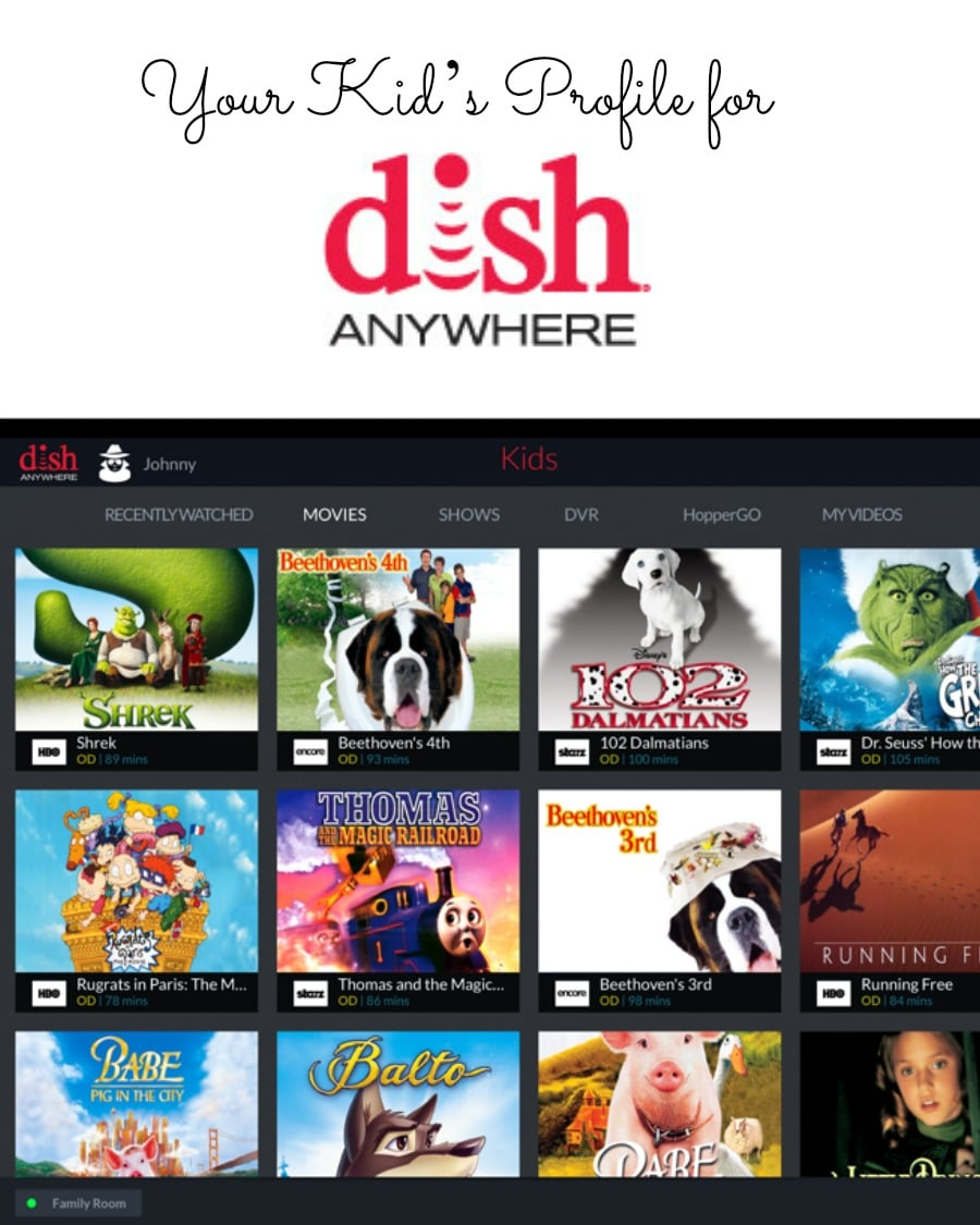 DISH introduced a new feature in DISH Anywhere Kids' Profiles