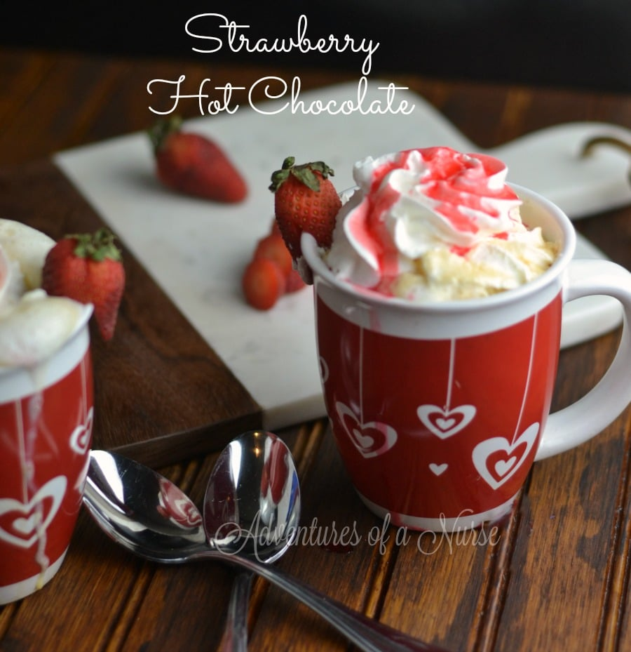 Strawberry Hot Chocolate