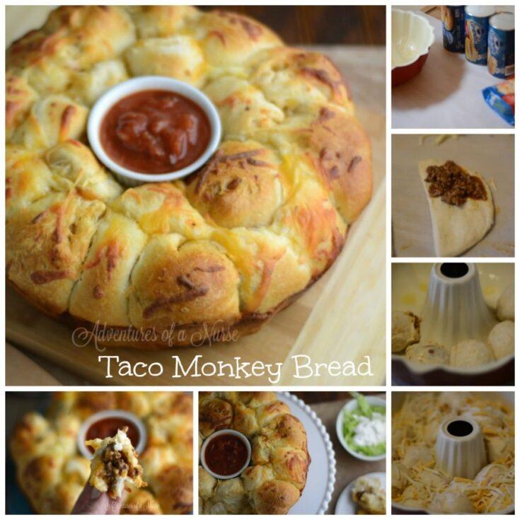 Taco Monkey Bread