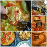Cheesy Skillet Taco Dip