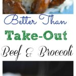 Instant Pot Better than Take Out Beef and Broccoli
