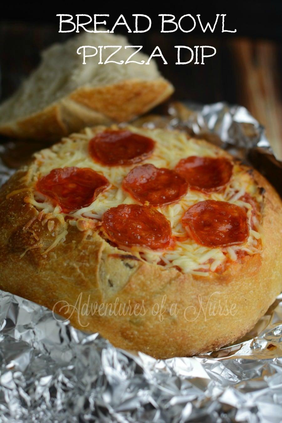 Bread Bowl Pizza