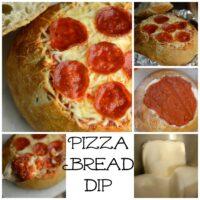 Pizza Bread Bowl Dip
