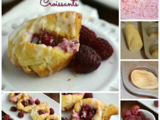 Rasberry Cheesecake Croissant