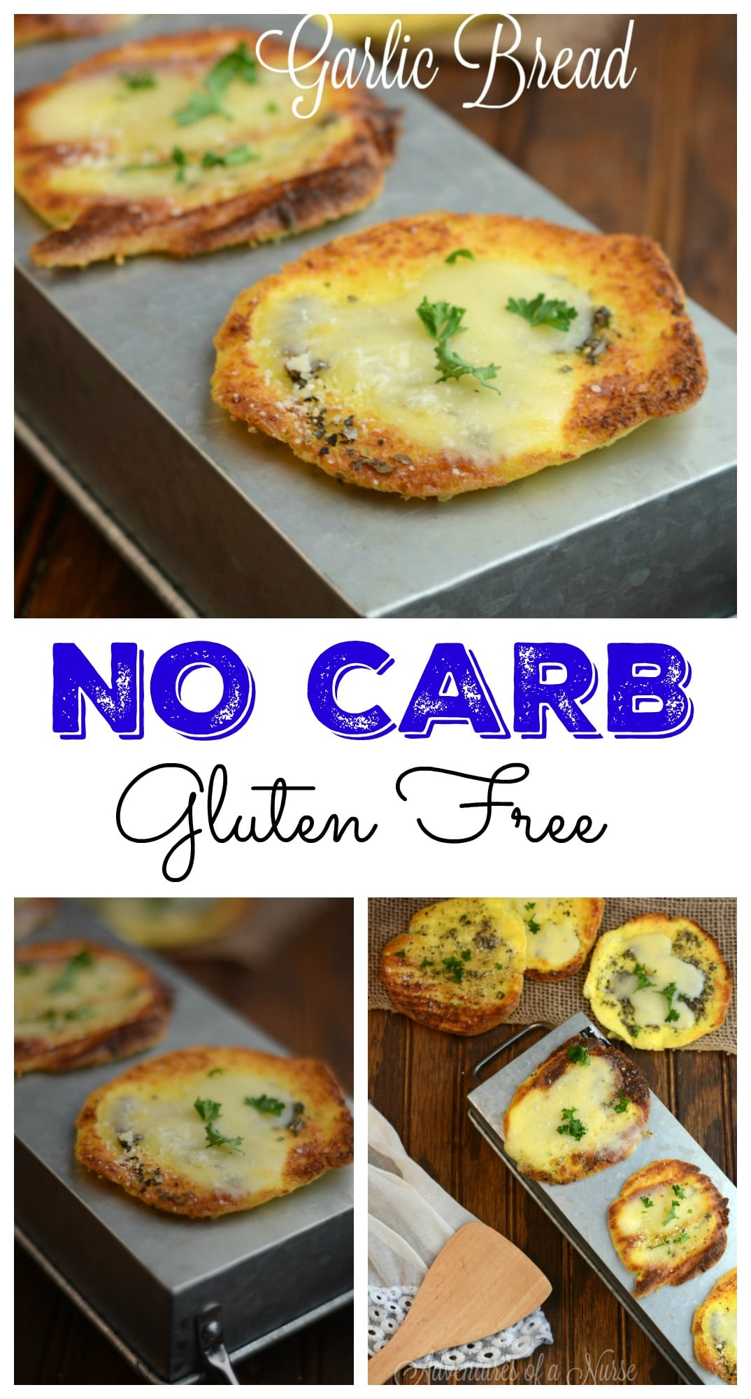 NO Carb Garlic Cloud Bread #GlutenFree #CarbFree #Healthy