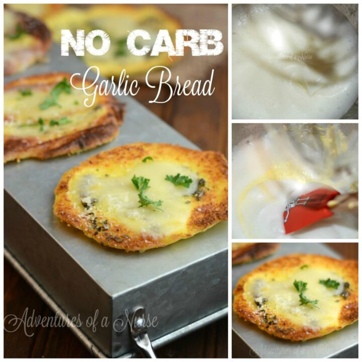 Carb Free Gluten Free Garlic Cloud Bread