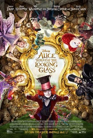 ALICE THROUGH THE LOOKING GLASS featuring Pink's cover