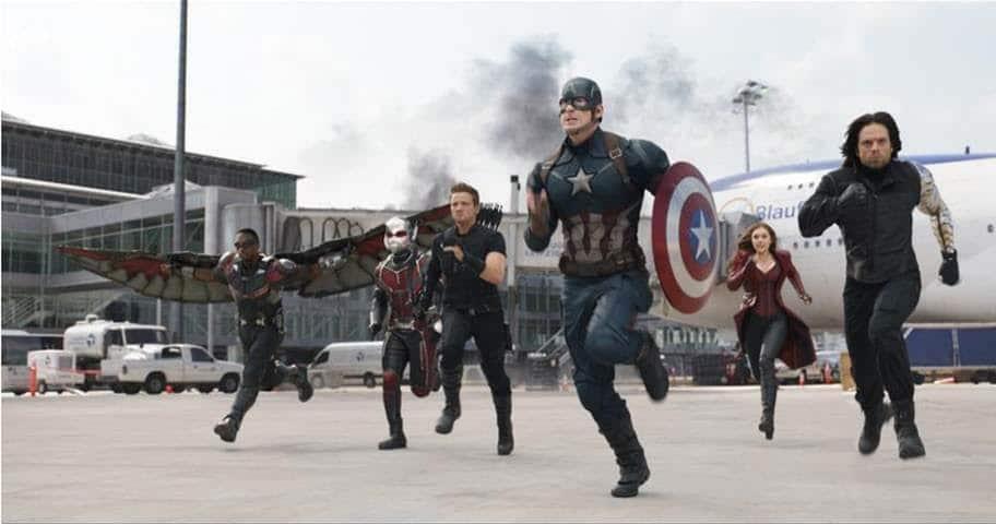 Brand New Trailer and Poster for Marvel's CAPTAIN AMERICA: CIVIL WAR!