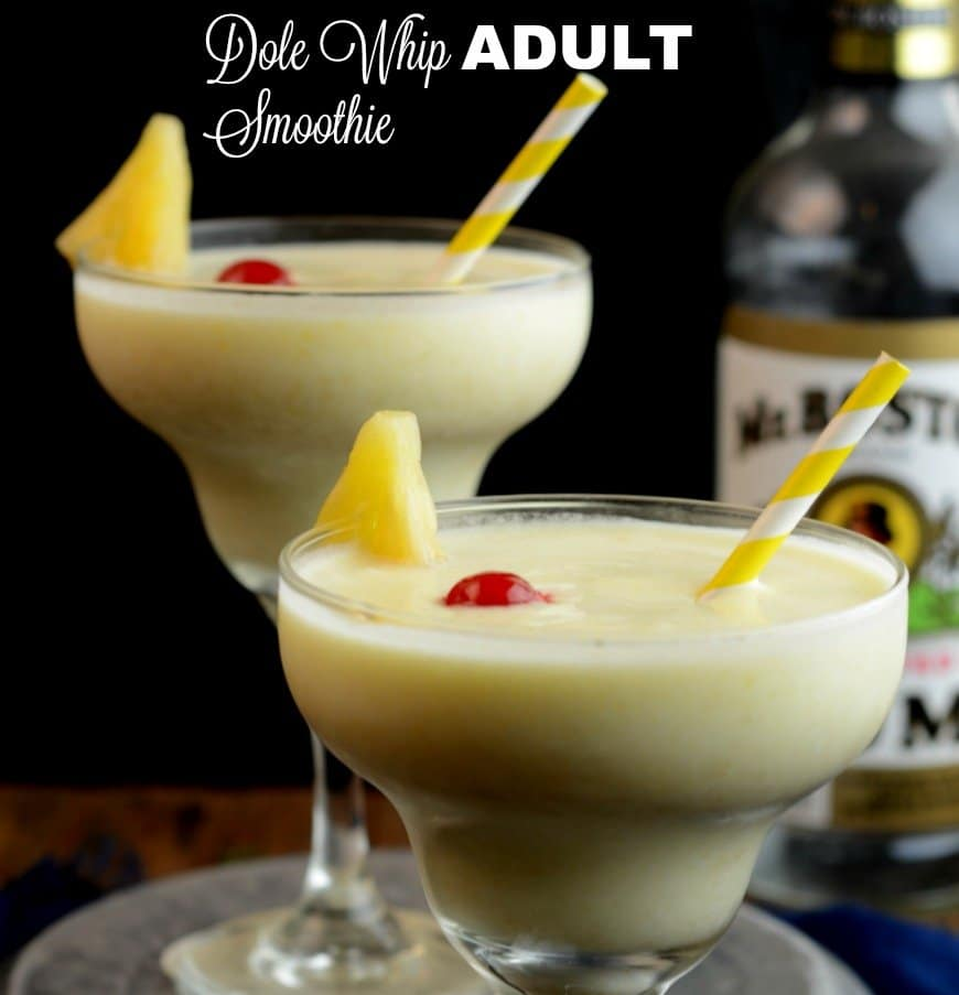 Dole Whip Adult Smoothie