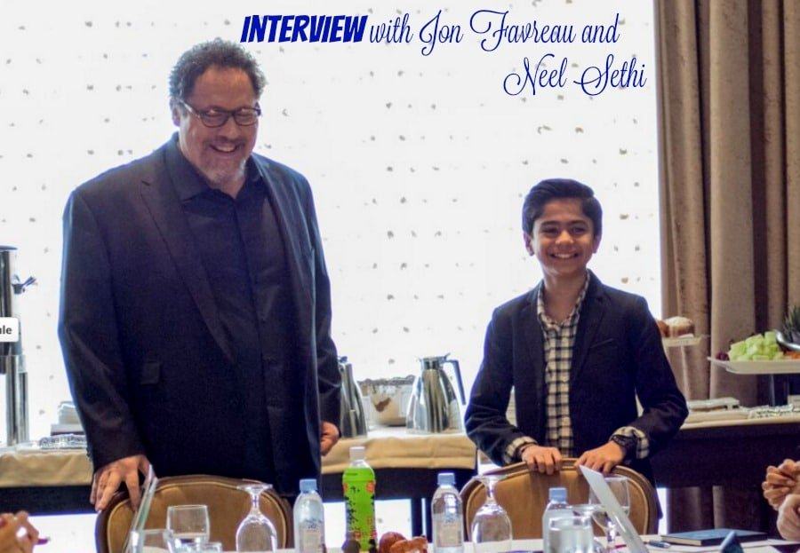 Interview with Jon Favreau and Neel Sethi