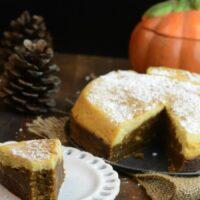 Pumpkin Cheesecake Instant Pot Bread