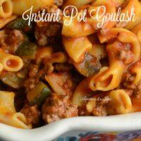 Instant Pot Goulash