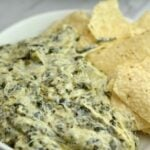 Instant Pot Artichoke and Spinach Dip Applebee's Copycat