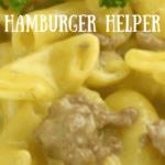 Homemade Instant Pot Hamburger Helper