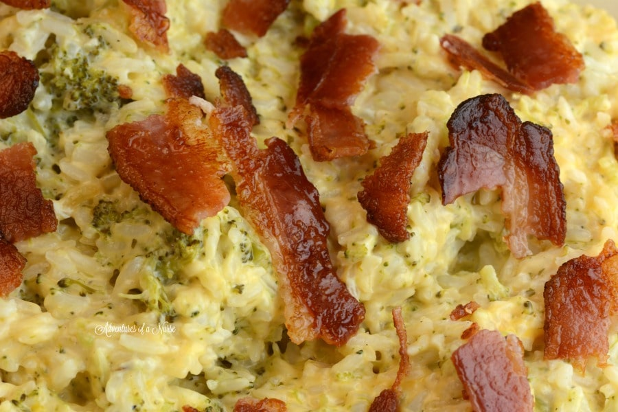 cracked-out-chicken-and-broccoli-rice casserole