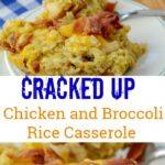 Instant Pot Cracked up Chicken and Broccoli Rice Casserole