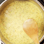 Panera's Instant Pot Broccoli and Cheddar Soup