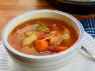 Instant Pot Detox and Weight loss Cabbage Soup
