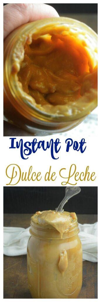 Instant Pot Homemade Caramel Dulce de Leche