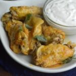 Buffalo and Ranch Instant Pot Wings